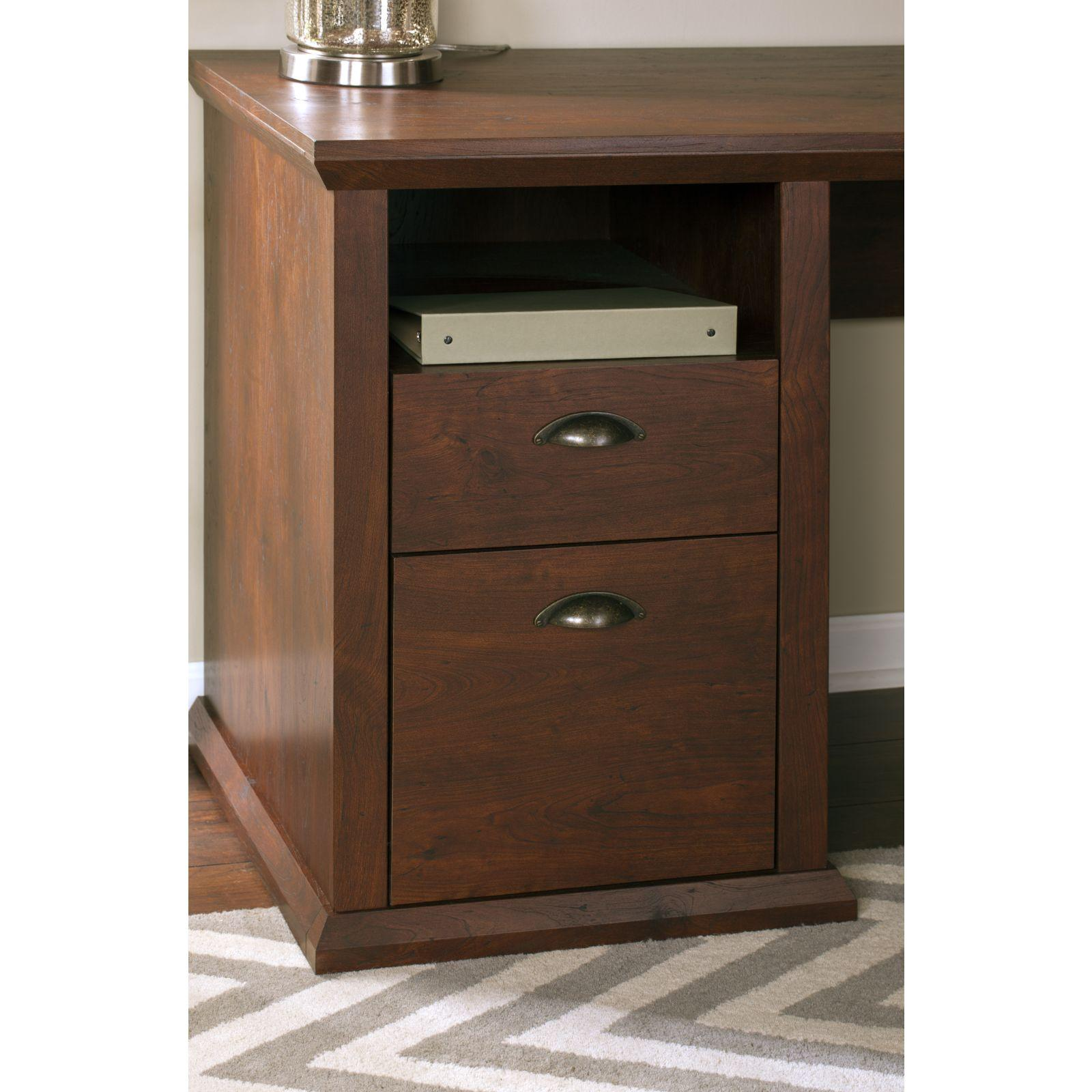 Amazon.com: Yorktown Corner Desk With Hutch And Bookcase