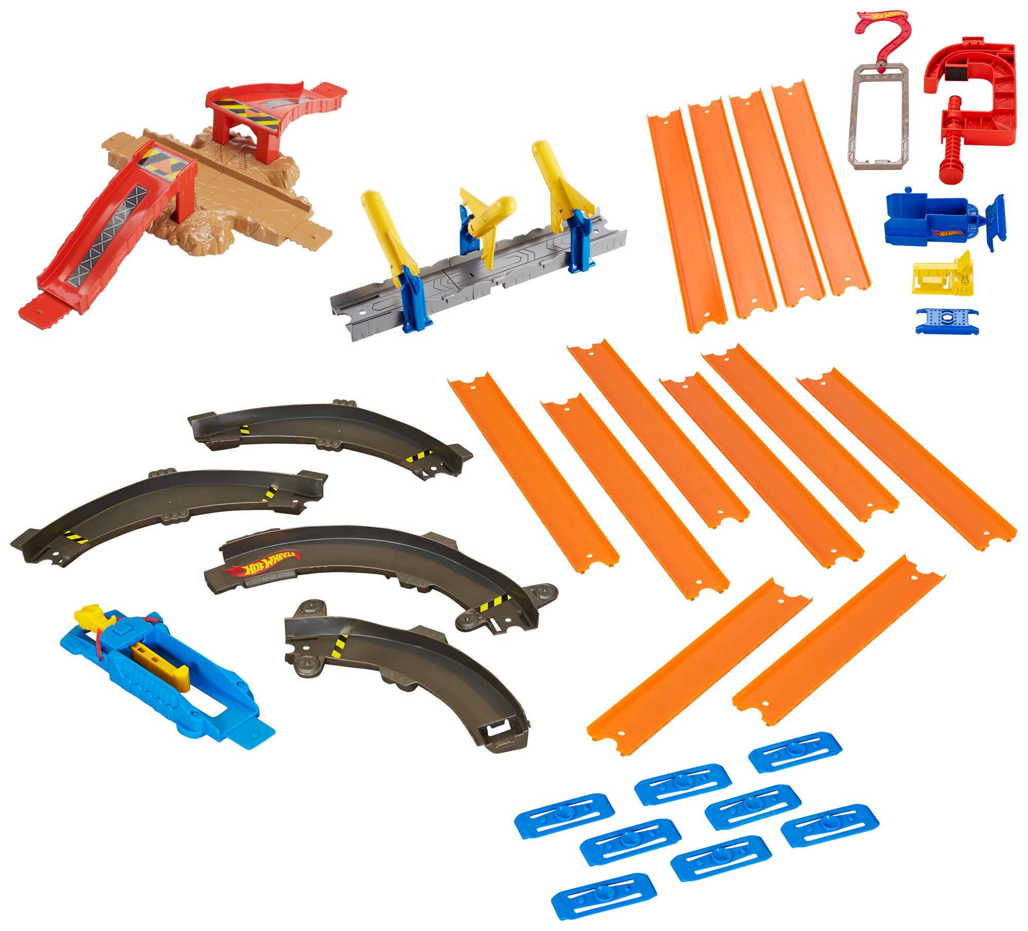 hot wheels track builder stunt box instructions