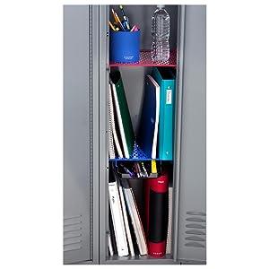 amazon com five star extra tall locker shelf and drawer holds 100 rh amazon com Locker Decorations Locker Decorations