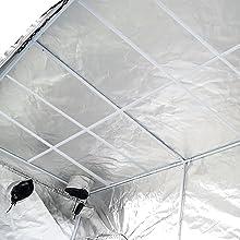 Ipower Gltentxl1 Mylar Hydroponic Grow Tent