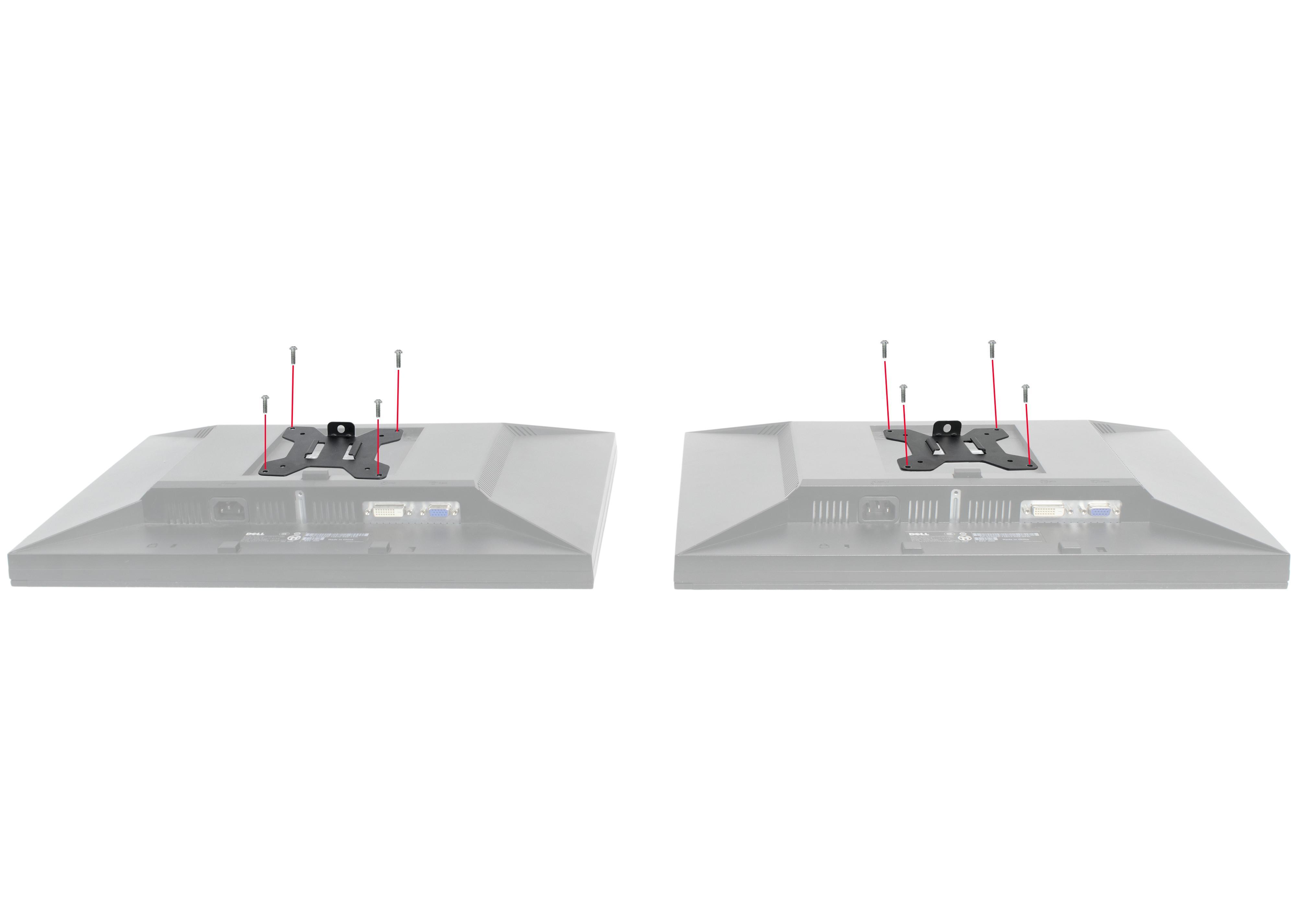 Amazon Com Vivo Dual Lcd Led Monitor Desk Mount Stand