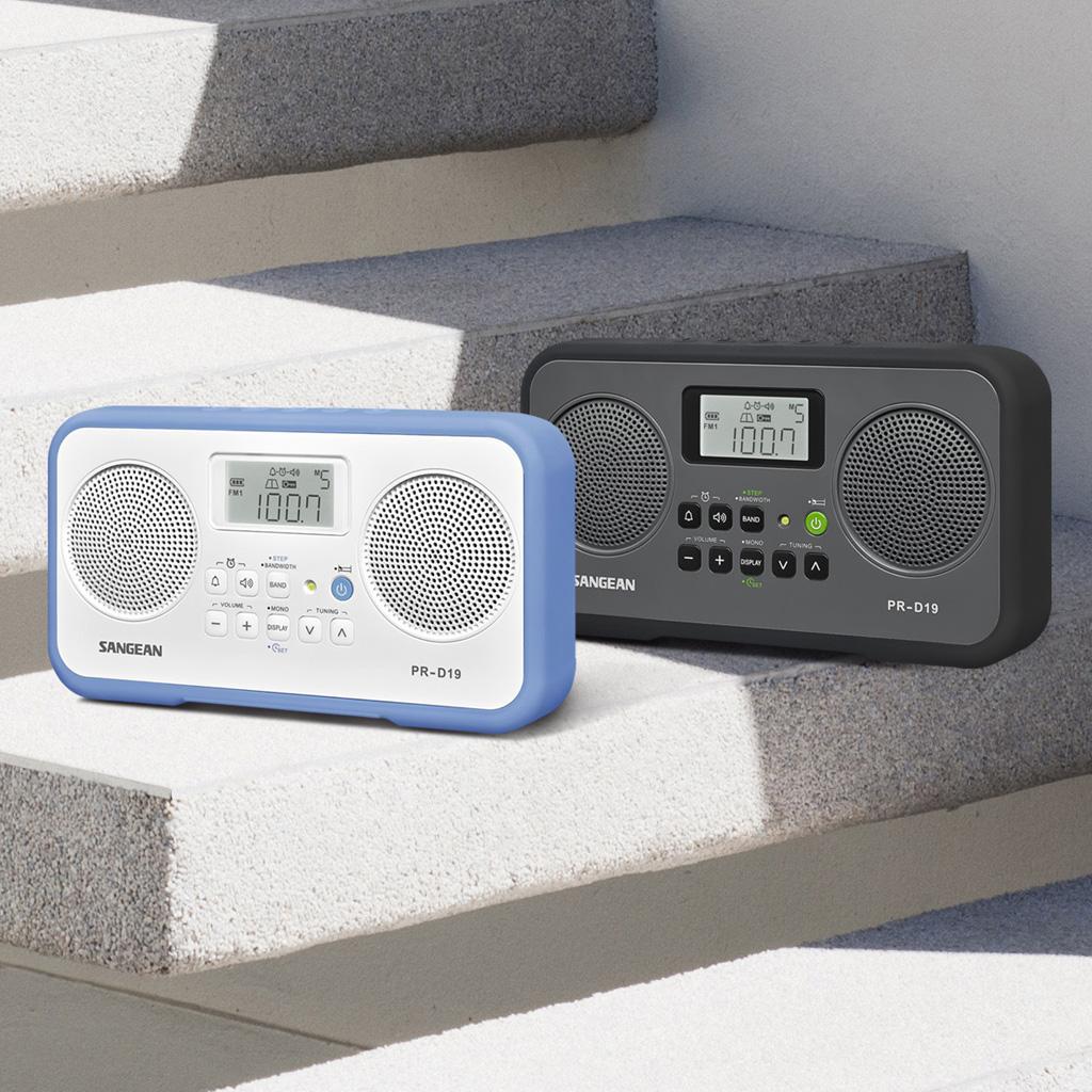 sangean pr d19bk fm stereo am digital tuning. Black Bedroom Furniture Sets. Home Design Ideas