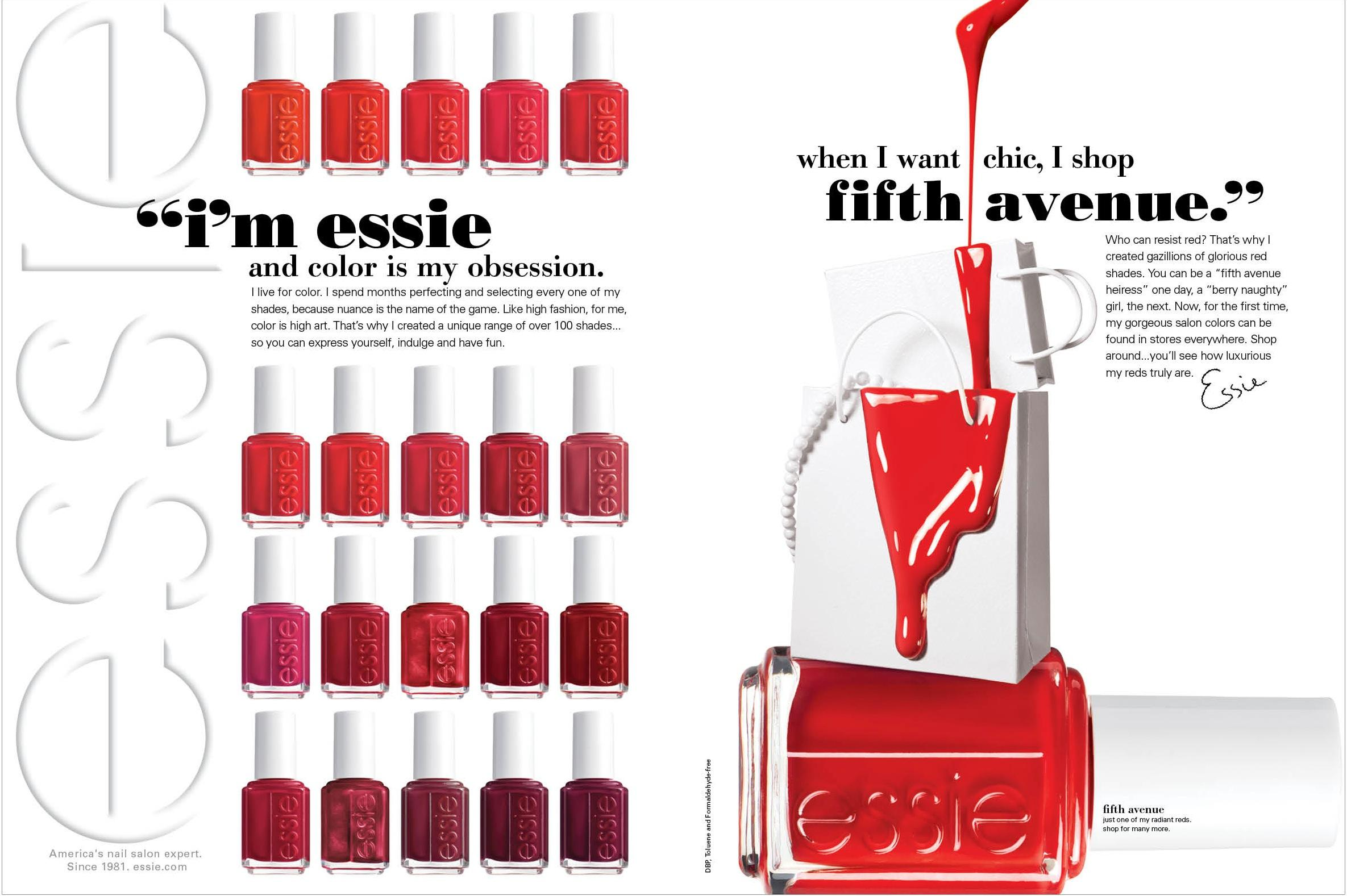 Amazon.com : essie Nail Color, Reds : Luxury Beauty