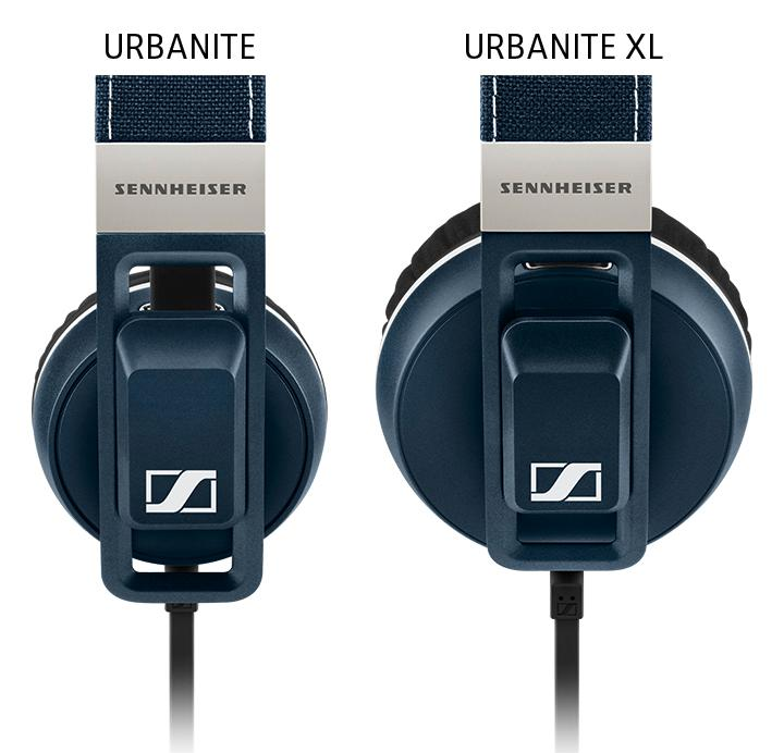 Amazon.com  Sennheiser Urbanite On-Ear Headphones - Black  Home ... 1c9724b2530a9