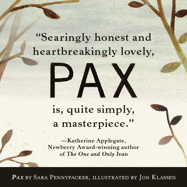 pax by sara pennypacker pdf