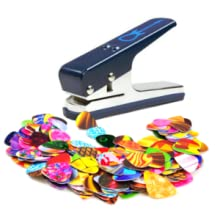 guitar picks, guitar pick maker, guitar pick punch, accessories, musical instruments, guitar gift