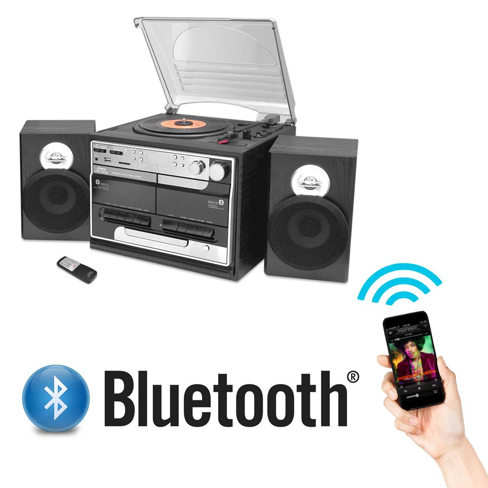 Pyle pttcsm70bt bluetooth classic style record for Classic house cd
