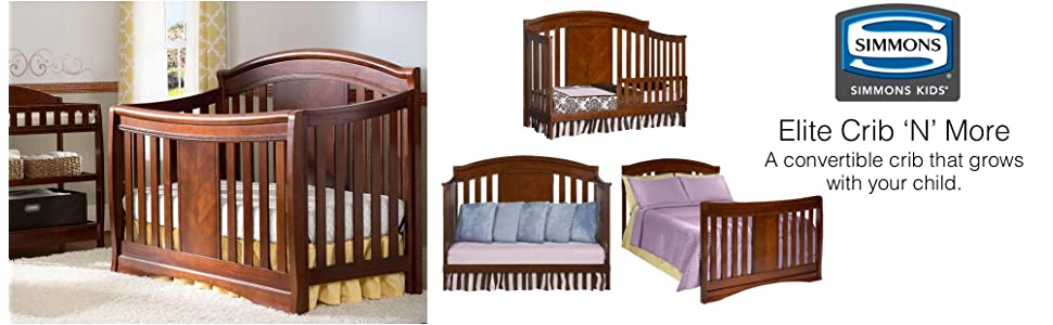 simmons nursery furniture. crib, nursery, timeless, traditional, simmons, wood, elite, convertible, simmons nursery furniture s