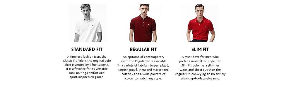 Lacoste Men 39 S Short Sleeve Pique Original Fit Polo