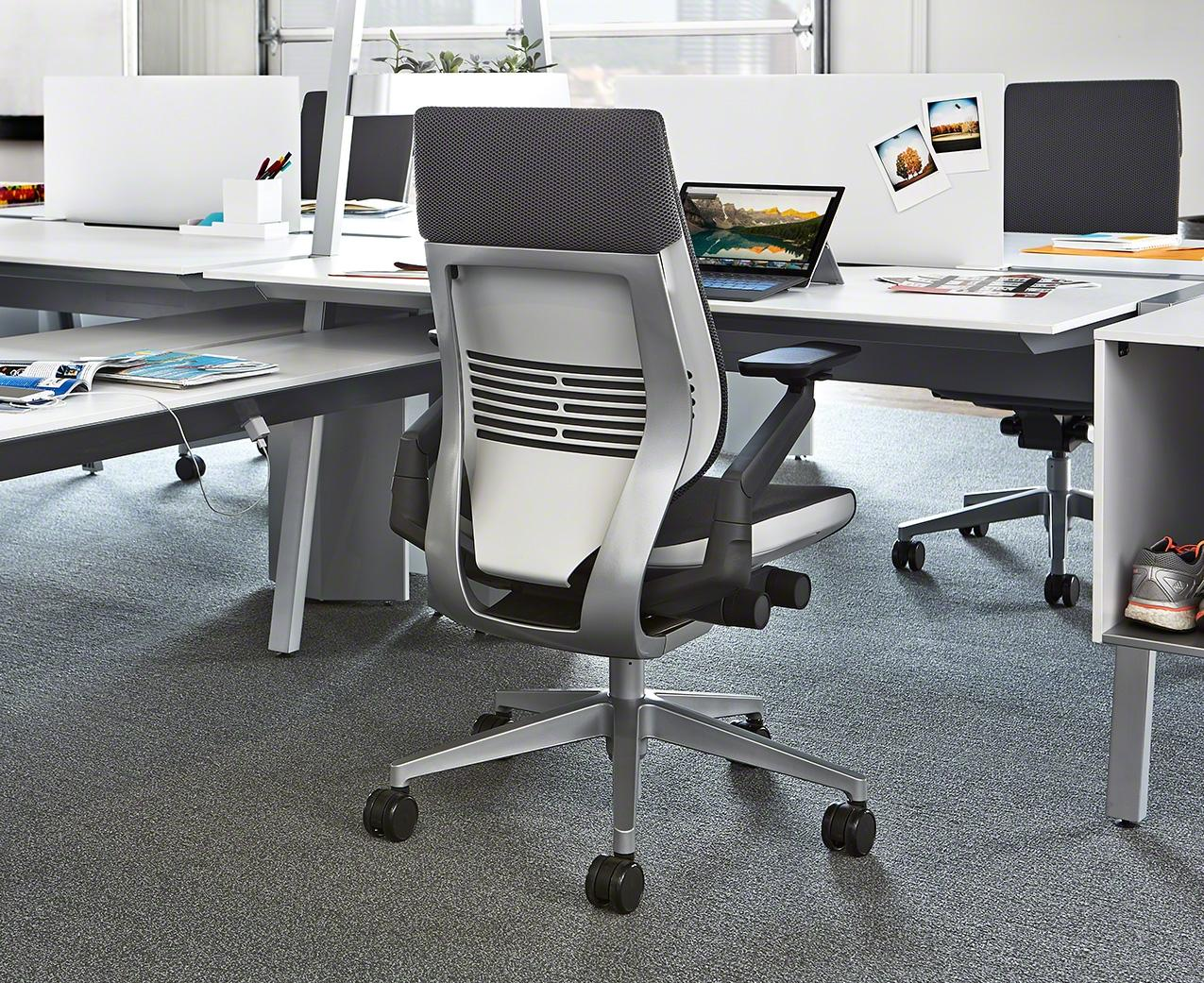 Steelcase gesture chair front - View Larger