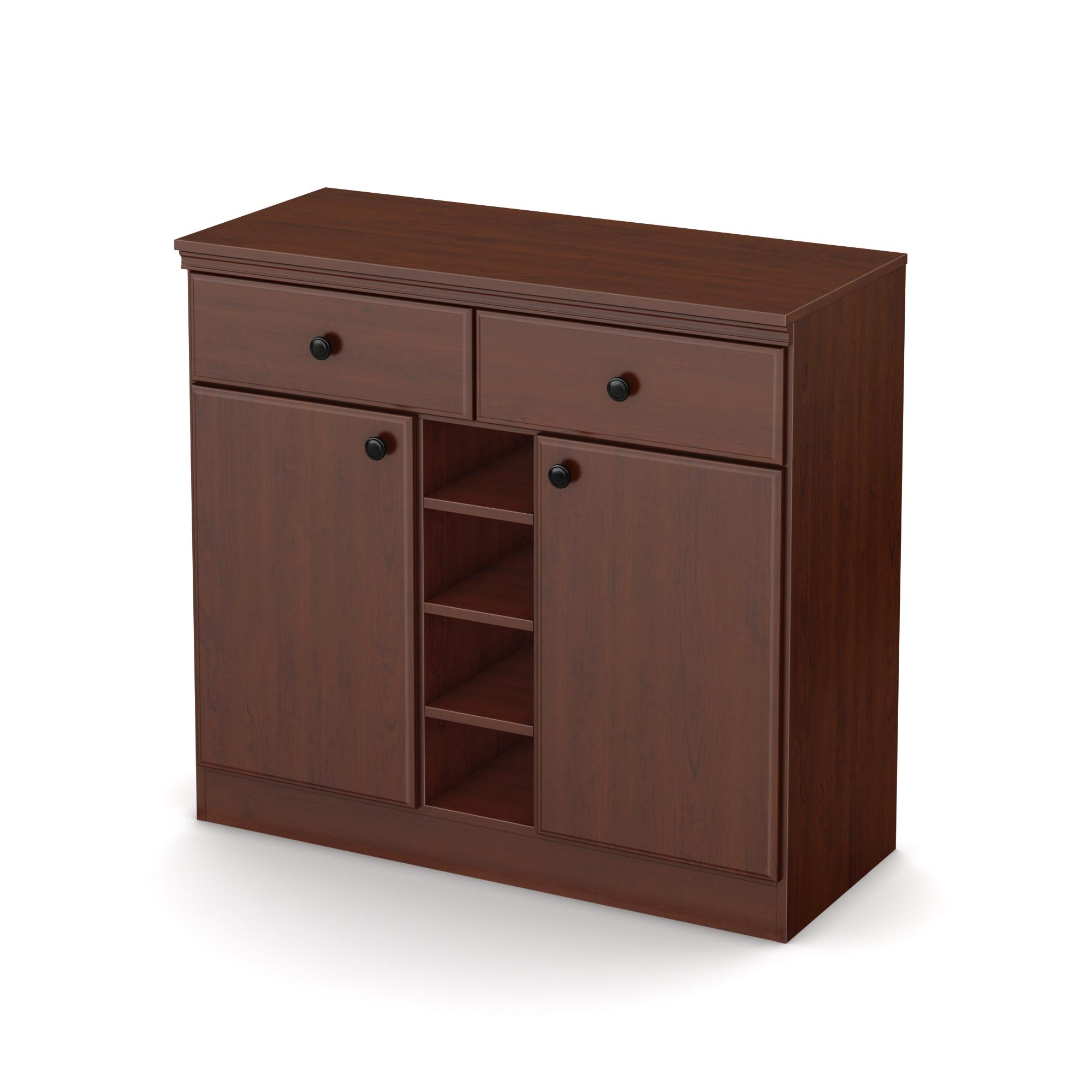Amazon Com South Shore Morgan Narrow Storage Cabinet