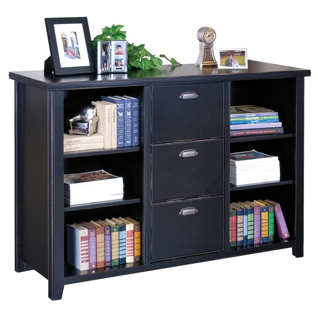 file cabinet bookshelf martin furniture tribeca loft black library 15316