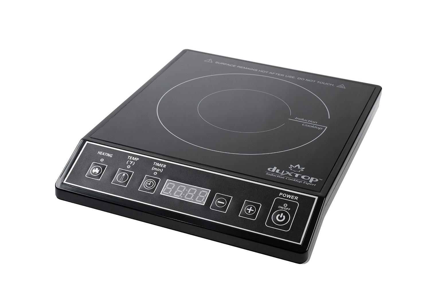... Induction Cooktop Countertop Burner, Black: Electric Countertop