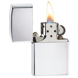 high polish chrome, 250, chrome lighter