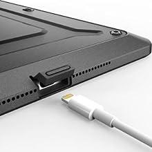 cubiertas del iPad 2 Aire de puerto