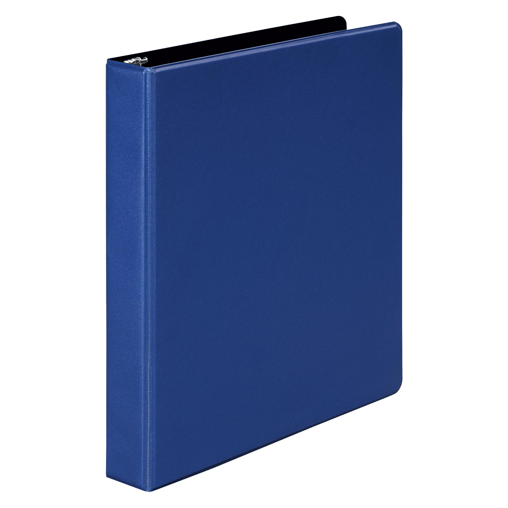 amazon com wilson jones 3 ring binder 1 inch round ring binder