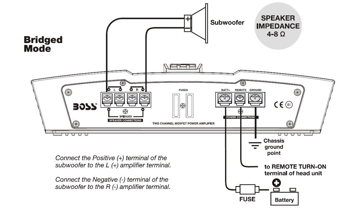 Boss Amplifier Wiring Diagram : Pv wiring diagram boss watt amp channel