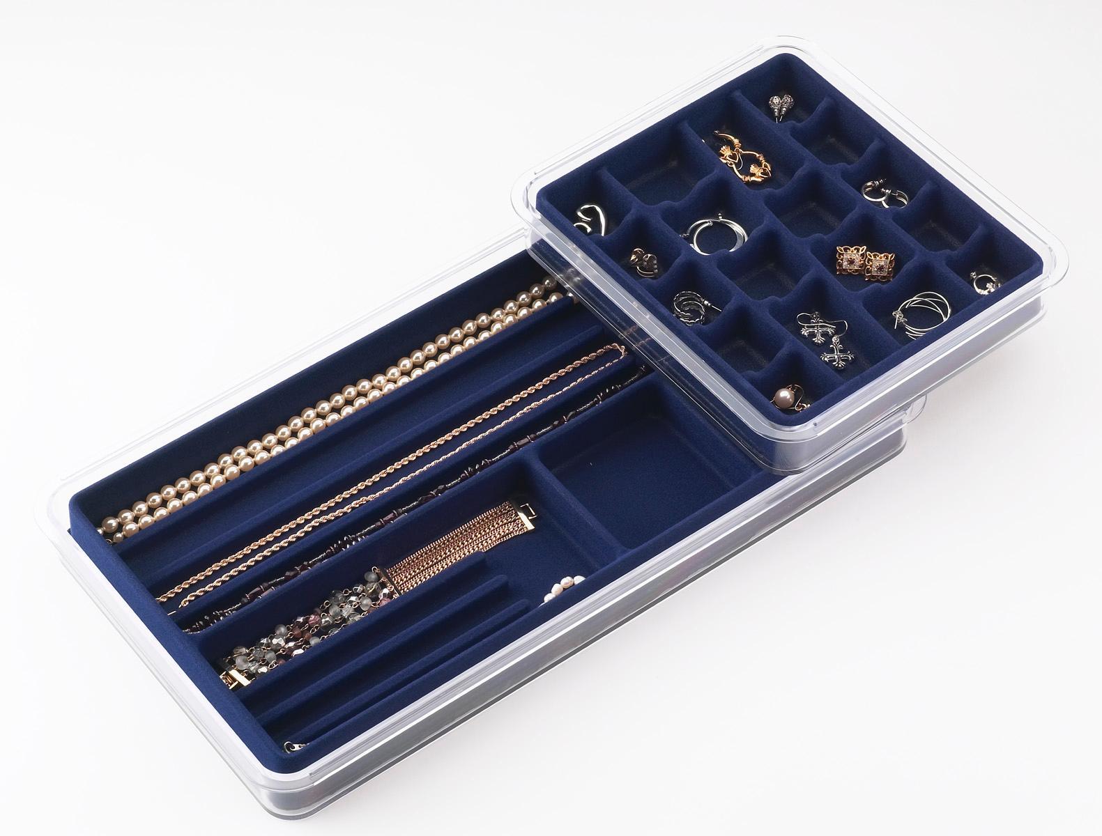 Amazoncom Neatnix Stax Jewelry Organizer Tray 36 Compartments