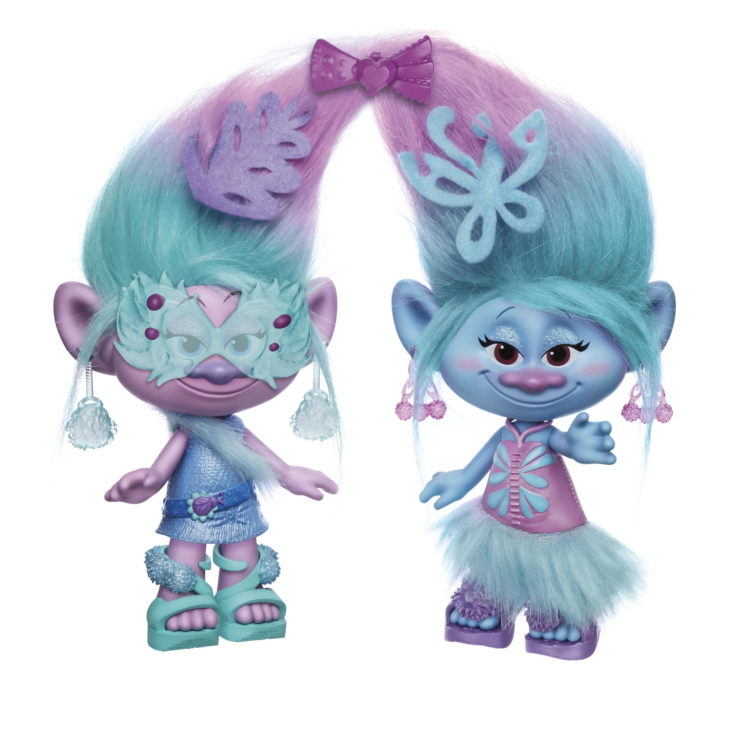 Amazon Com Dreamworks Trolls Satin And Chenille S Style
