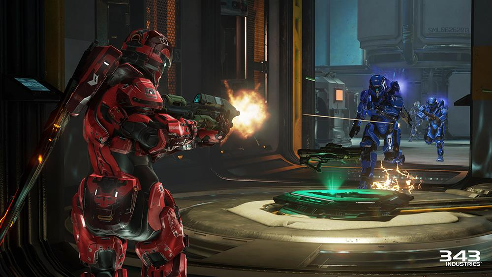Amazoncom Halo 5 Guardians Xbox One Microsoft Corporation