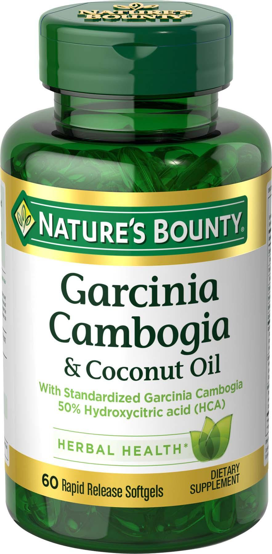 Nature S Bounty Garcinia Cambogia Reviews