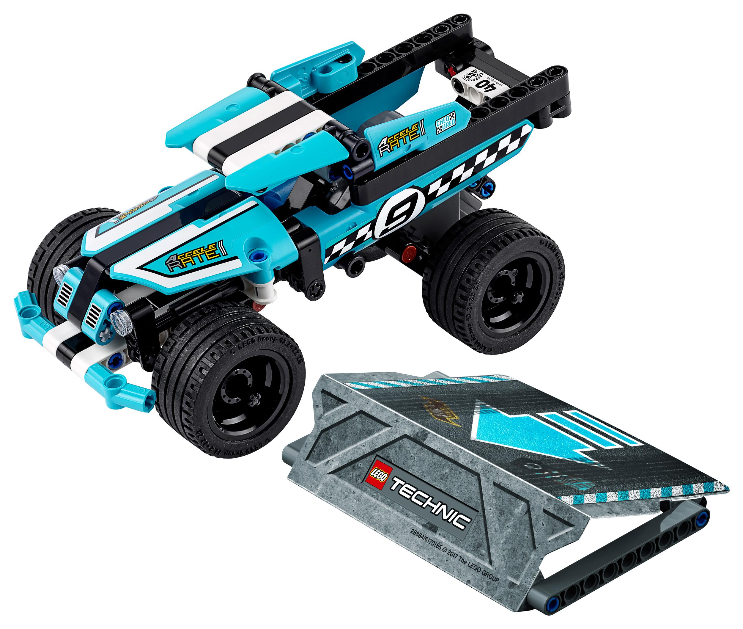 lego technic stunt truck 42059 vehicle set building toy toys games. Black Bedroom Furniture Sets. Home Design Ideas