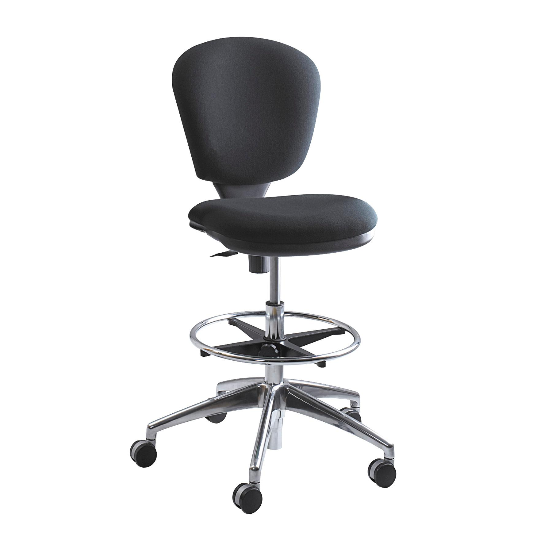 Safco Products BL Metro Extended Height Chair Additional options sold separately Black