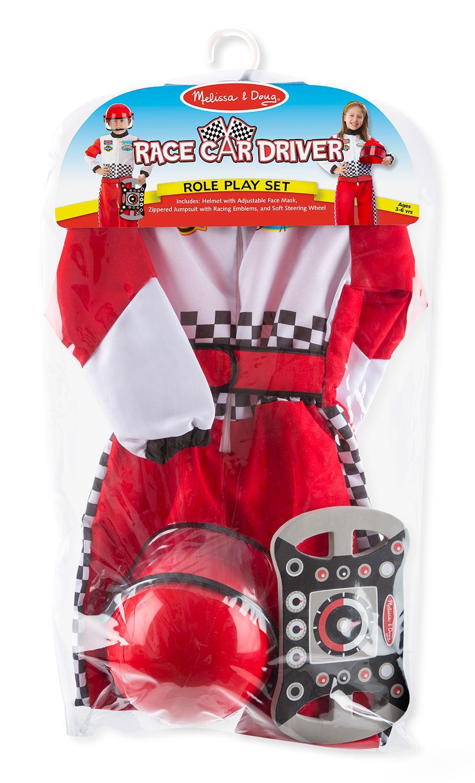 Melissa And Doug Race Car Driver Costume