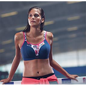 Panache Women's Non-Wired Sports Bra at Amazon Women's Clothing store: