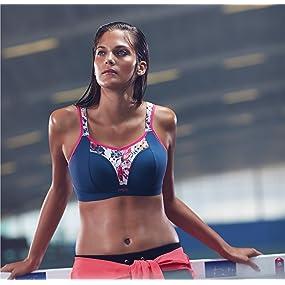 Panache Women's Non-Wired Sports Bra at Amazon Women's Clothing store: