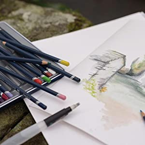 Derwent, Waterbrush, Watercolor Brush