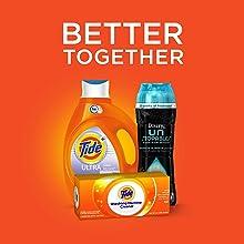 Tide Ultra Stain Release Original Scent HE Turbo Clean Liquid Laundry Detergent, bundle