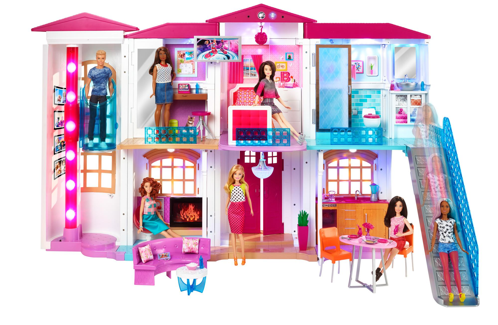 2016 NEW BARBIE HELLO DREAM HOUSE DREAMHOUSE PLAYSET SMART ...