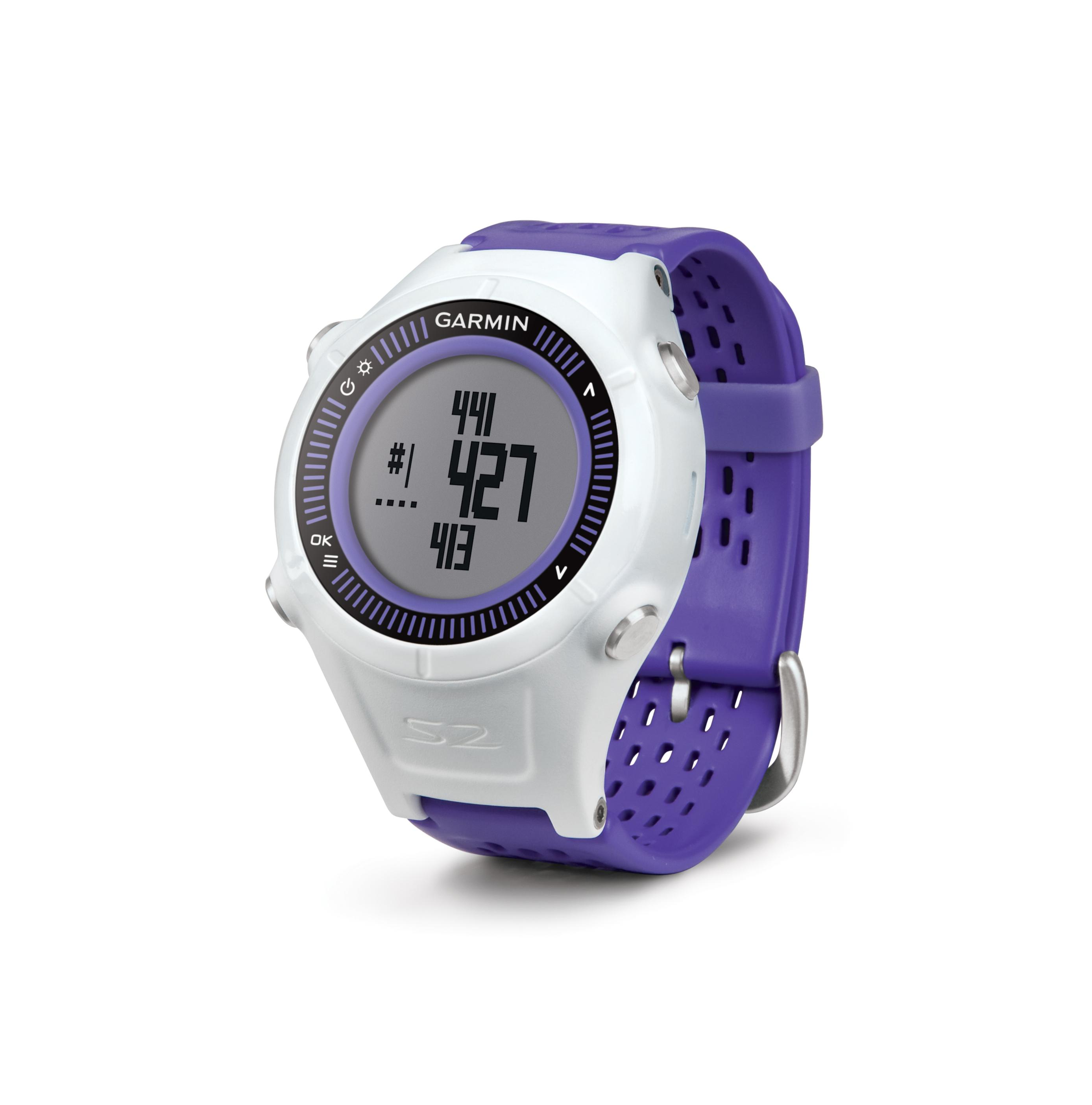 garmin approach s2 gps golf watch with worldwide courses purple cell phones. Black Bedroom Furniture Sets. Home Design Ideas