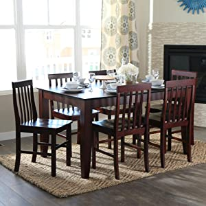 Good Walker Edison 60 Inch Wood Dining Table