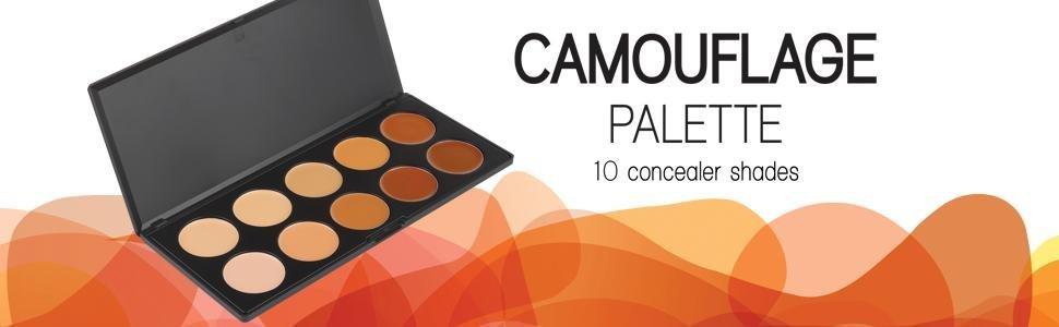 Camouflage Concealer Palette Header