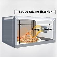 NN-SD654W Maximum Interior, Minimal Footprint