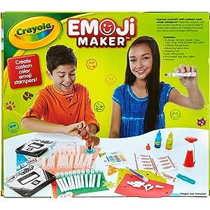 Crayola Emoji Marker Maker - Back of Package