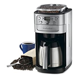 Key Features Of Cuisinart DGB-900BC Grind & Brew Thermal