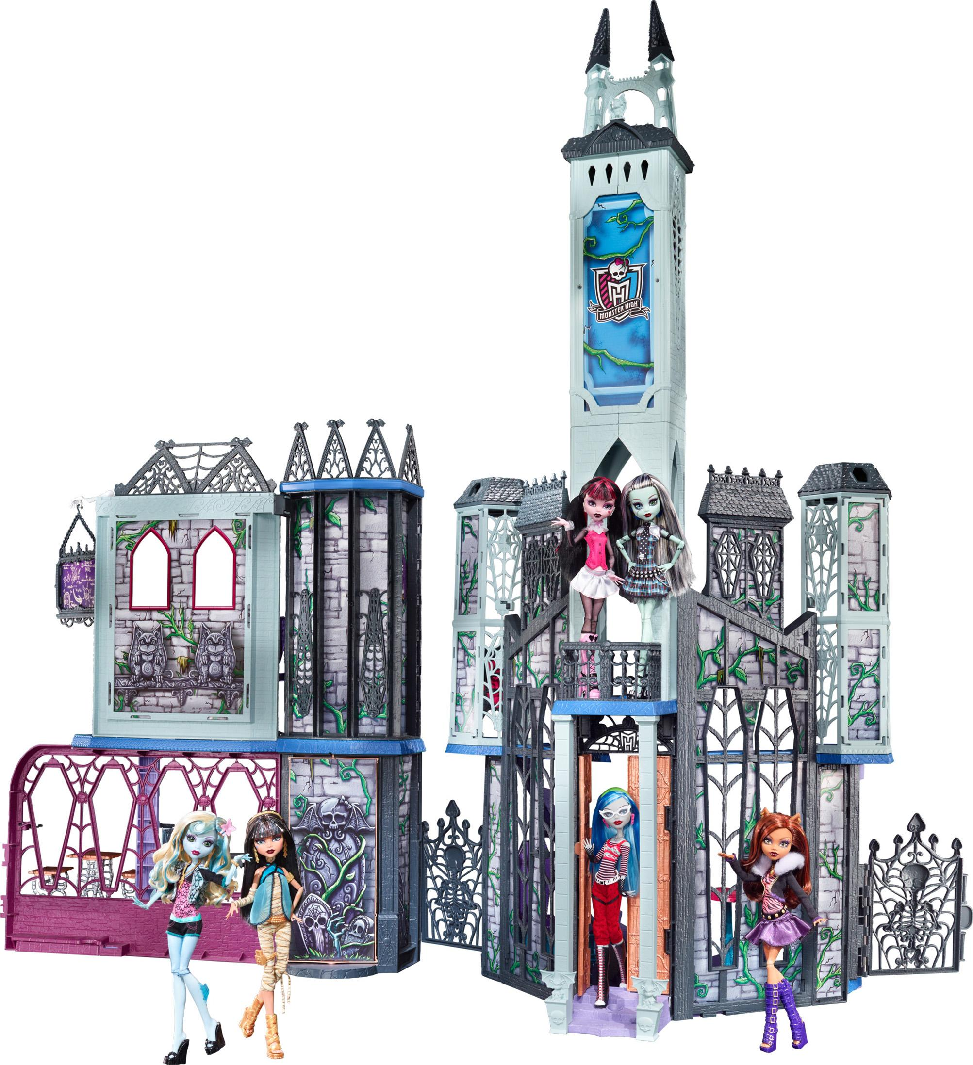 New Monster High Deadluxe High School Playset Girl 5 to 7 Years