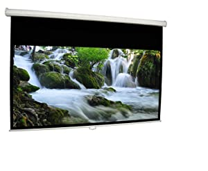 Manual Pull-Down Projector Screens