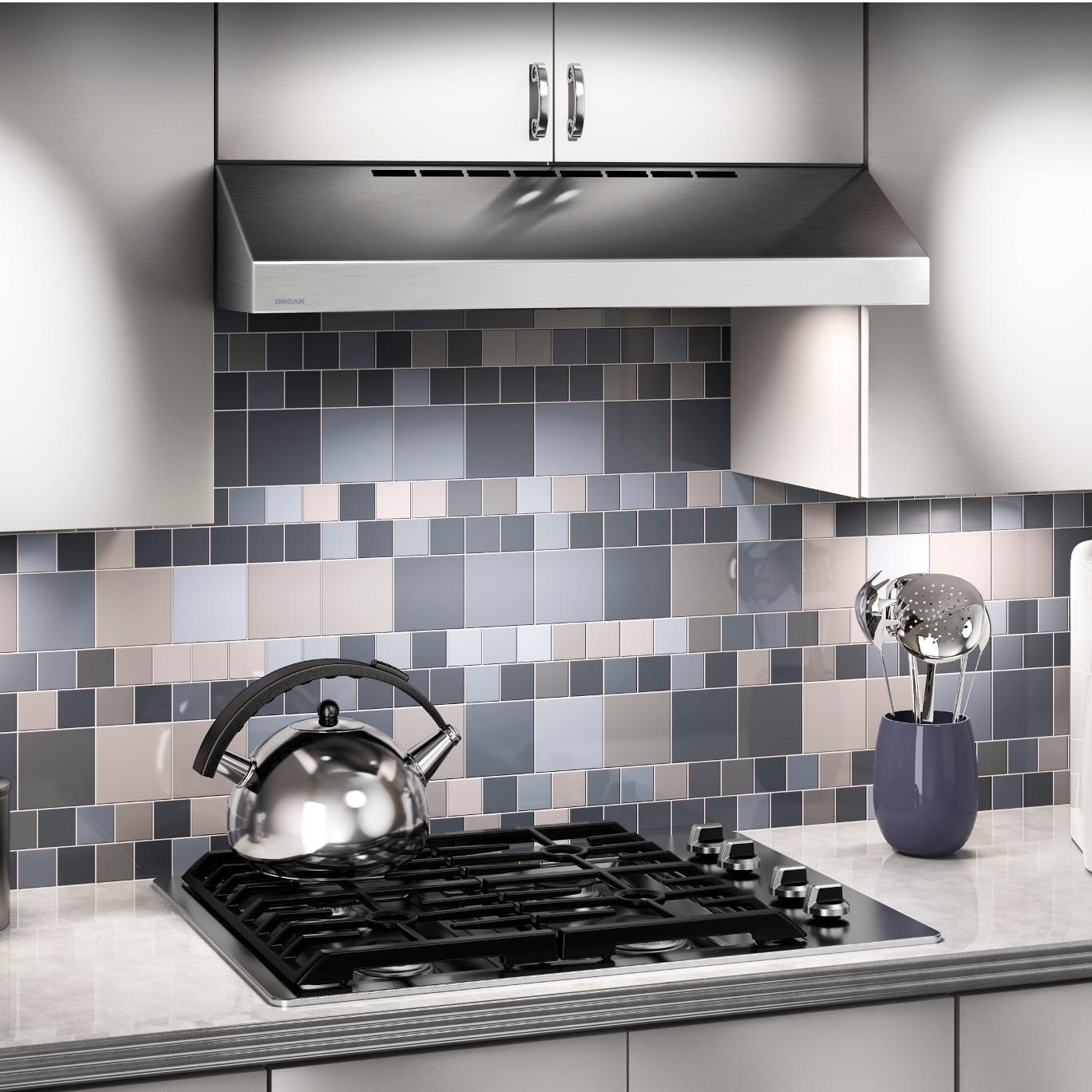 steel feature stainless broan main under range hood cabinet