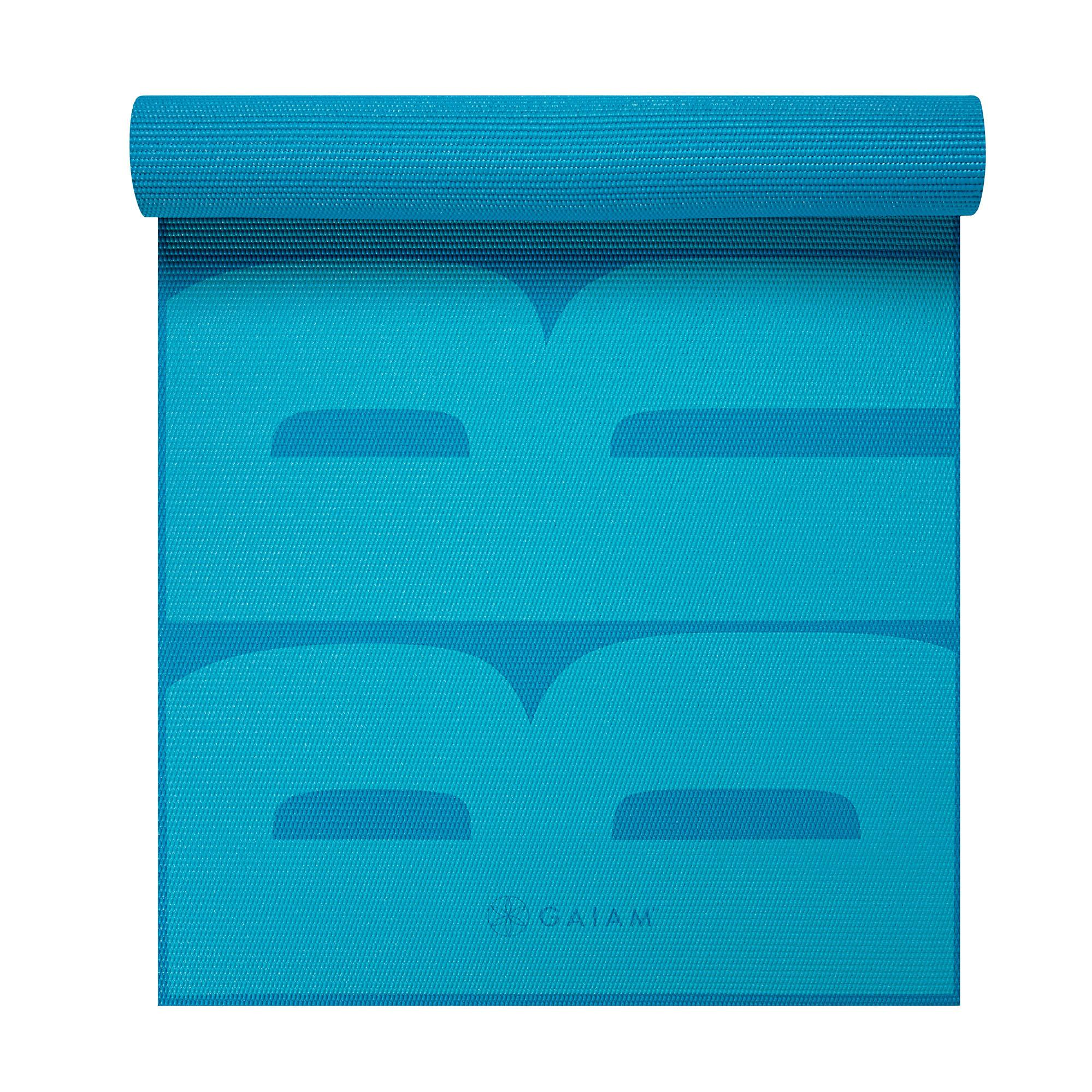 Amazon.com : Gaiam Print Premium Yoga Mats (5mm) : Sports