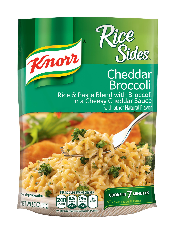 Amazon Com Knorr Rice Side Dish Cheddar Broccoli 5 7 Oz