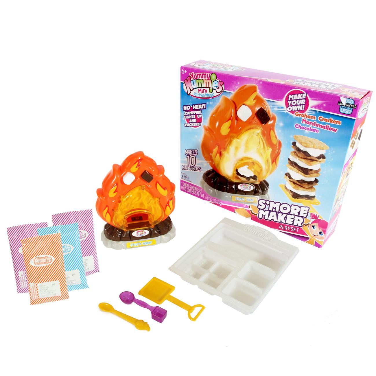 Yummy Nummies Mini Kitchen Magic Playset S Mores Maker