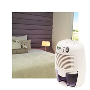 Gurin DHMD-210 Electric Compact Dehumidifier in the Bedroom