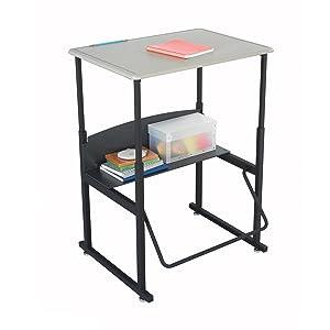 Alphabetter, desk, alphabetter desk, school desk, classroom desk, standing desk