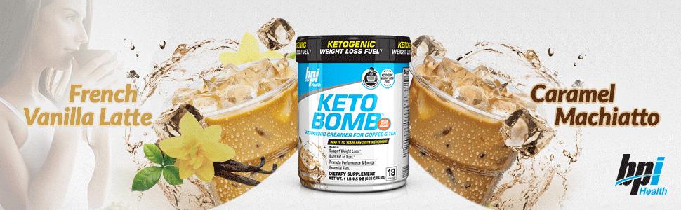 Amazon.com: BPI Sports Keto Bomb Ketogenic Creamer for