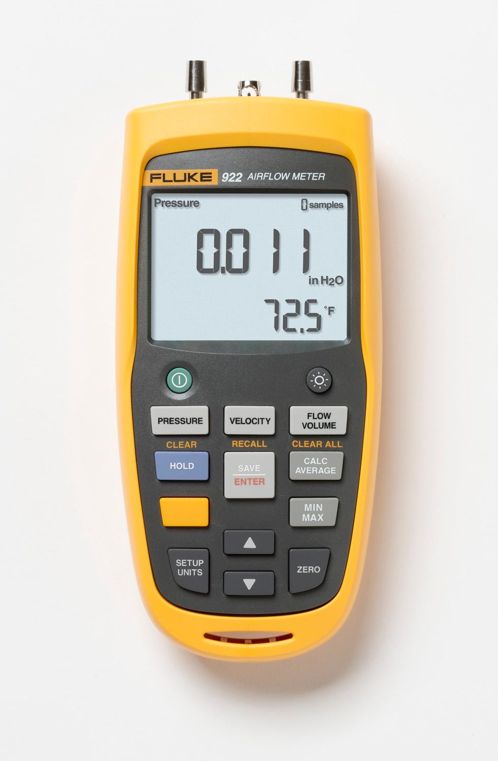 Moisture Probe For Fluke Multimeter : Fluke kit airflow meter with a nist traceable
