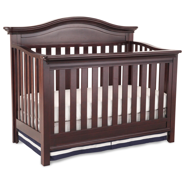 Amazon.com : Simmons Kids Augusta Convertible Baby Crib N ...